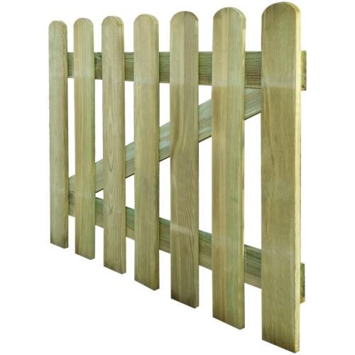 Wooden Garden Gate 100 x 80 cmHome &amp; Garden<br>Wooden Garden Gate 100 x 80 cm<br>