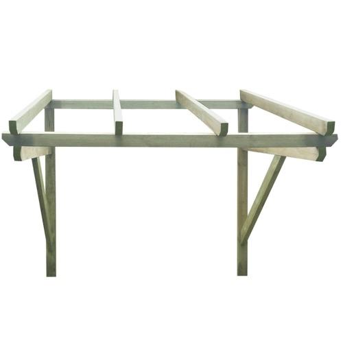 Wooden Door Canopy 150 x 150 x 160 cmHome &amp; Garden<br>Wooden Door Canopy 150 x 150 x 160 cm<br>