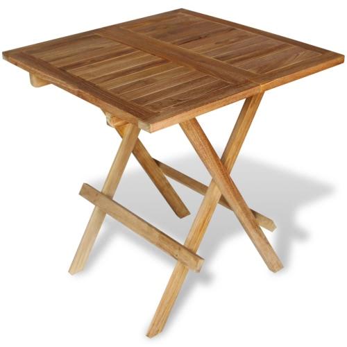 Garden table bistro table teak 60x60x65 cmHome &amp; Garden<br>Garden table bistro table teak 60x60x65 cm<br>