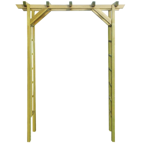 Arbour / arc roses impregnated wood 150 x 50 x 200 cmHome &amp; Garden<br>Arbour / arc roses impregnated wood 150 x 50 x 200 cm<br>