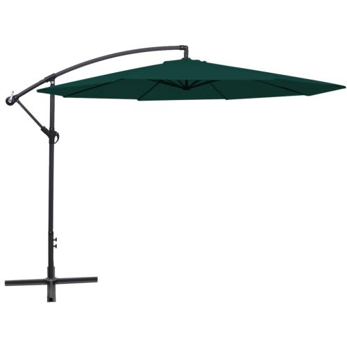 Paraguas Cantilever 3.5 m Verde