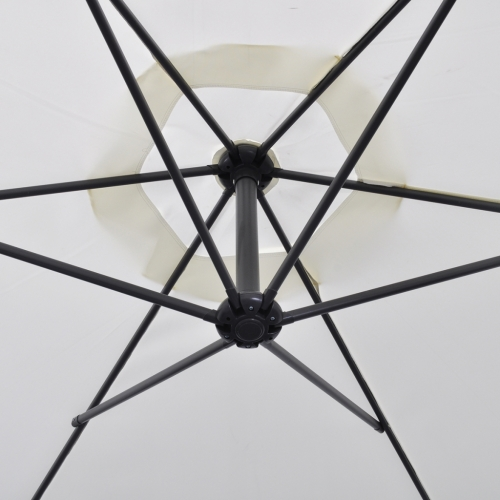 Cantilever Umbrella 3 m Sand WhiteHome &amp; Garden<br>Cantilever Umbrella 3 m Sand White<br>