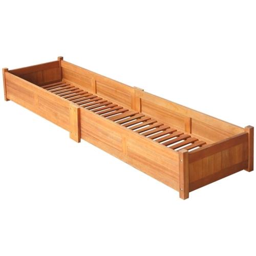 Garden Planter Acacia Wood 200x30x25 cmHome &amp; Garden<br>Garden Planter Acacia Wood 200x30x25 cm<br>
