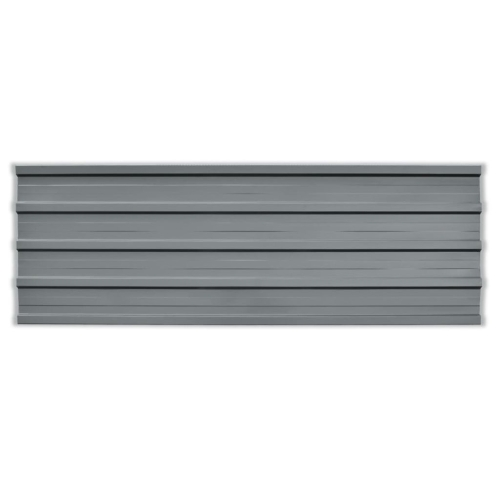 Roof Panels 12 pcs Galvanised Steel GreyHome &amp; Garden<br>Roof Panels 12 pcs Galvanised Steel Grey<br>