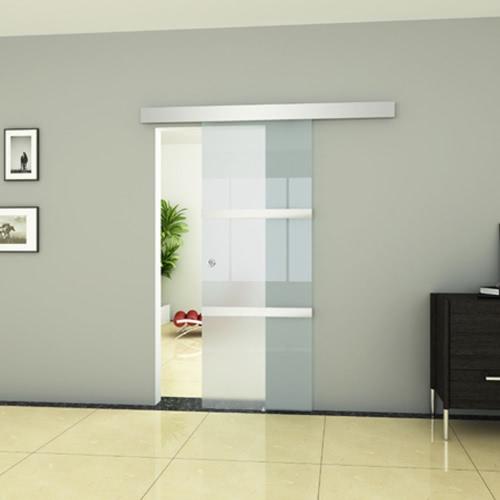Schiebet?r aus Glas 2050 x 750 mmHome &amp; Garden<br>Schiebet?r aus Glas 2050 x 750 mm<br>