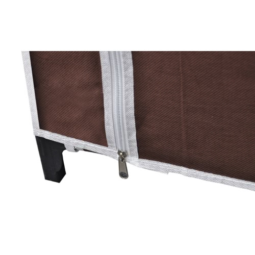 Folding wardrobe brownHome &amp; Garden<br>Folding wardrobe brown<br>