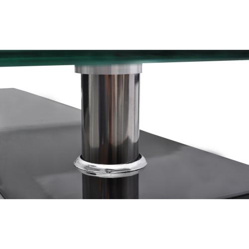 High Gloss Coffee Table MDF Frame BlackHome &amp; Garden<br>High Gloss Coffee Table MDF Frame Black<br>
