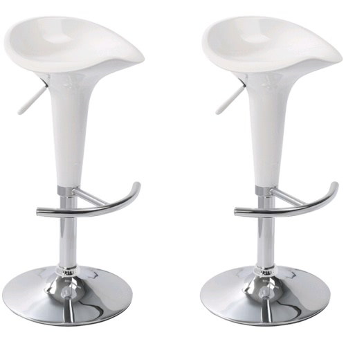 Bar Stool Las Vegas White (set of 2)Home &amp; Garden<br>Bar Stool Las Vegas White (set of 2)<br>