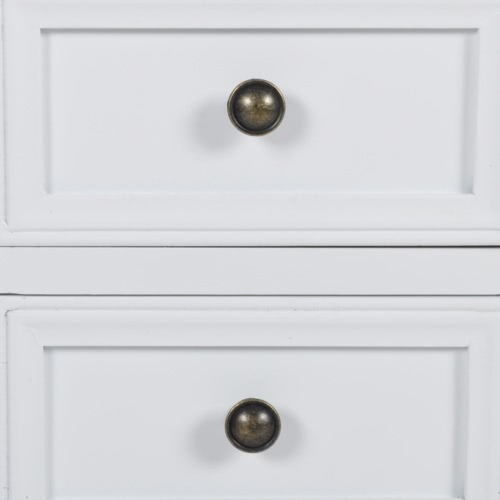 White Two-Drawer NightstandHome &amp; Garden<br>White Two-Drawer Nightstand<br>