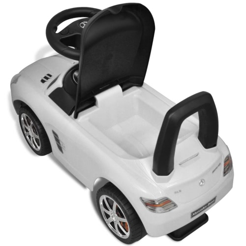 Mercedes Benz Foot-Powered Kids Car WhiteHome &amp; Garden<br>Mercedes Benz Foot-Powered Kids Car White<br>