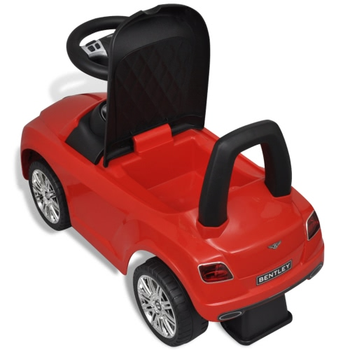 Bentley Foot-Powered Kids Car RedHome &amp; Garden<br>Bentley Foot-Powered Kids Car Red<br>