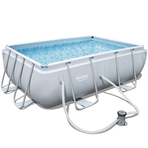 Bestway Power Steel Rectangular Pool Set 282x196x84 cmHome &amp; Garden<br>Bestway Power Steel Rectangular Pool Set 282x196x84 cm<br>