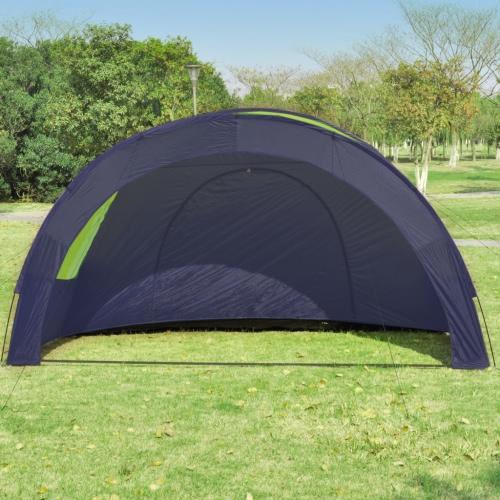 Tenda da campeggio in poliestere per 6 persone Blu-VerdeSports &amp; Outdoor<br>Tenda da campeggio in poliestere per 6 persone Blu-Verde<br>
