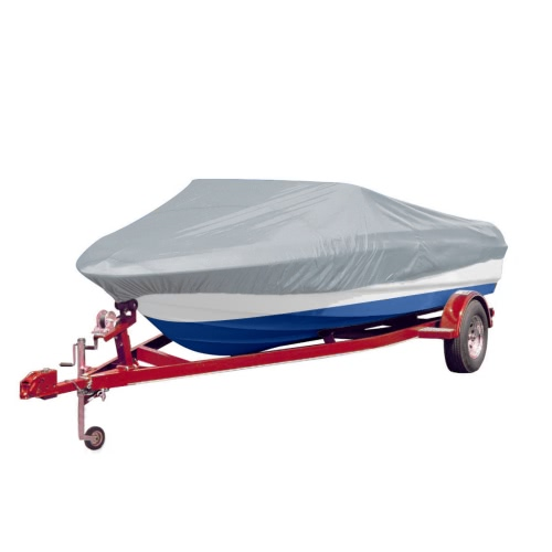 Telo copertura per barca grigio 427-488 cm / 173 cmSports &amp; Outdoor<br>Telo copertura per barca grigio 427-488 cm / 173 cm<br>