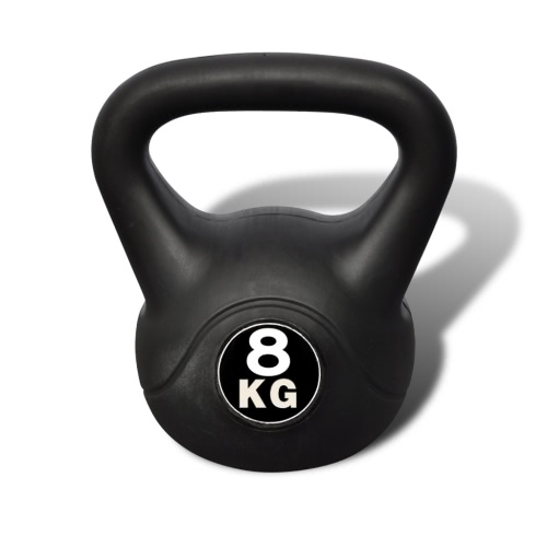 Kettlebell 8 kg de hormigón