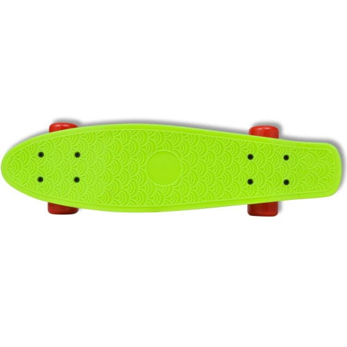 Skateboard Retro verde con ruote rosse 15,5 cmSports &amp; Outdoor<br>Skateboard Retro verde con ruote rosse 15,5 cm<br>