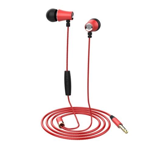 Ecouteurs intra-auriculaires haut-de-gamme en métal