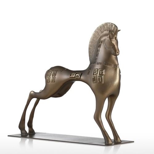 Vigorous Horse Tomfeel Fiberglass Sculpture Home Decoration Original Design HorseHome &amp; Garden<br>Vigorous Horse Tomfeel Fiberglass Sculpture Home Decoration Original Design Horse<br>