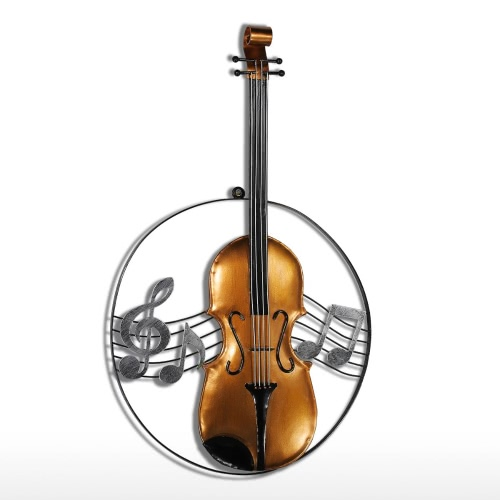 Tooarts Violin Hanging Ornament Home Decor Wall Hangings Decor Music Instrument Craft GiftHome &amp; Garden<br>Tooarts Violin Hanging Ornament Home Decor Wall Hangings Decor Music Instrument Craft Gift<br>