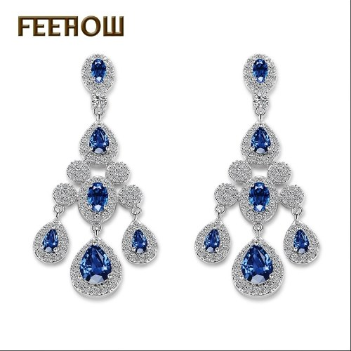 European and American fashion exaggerated generous female earrings