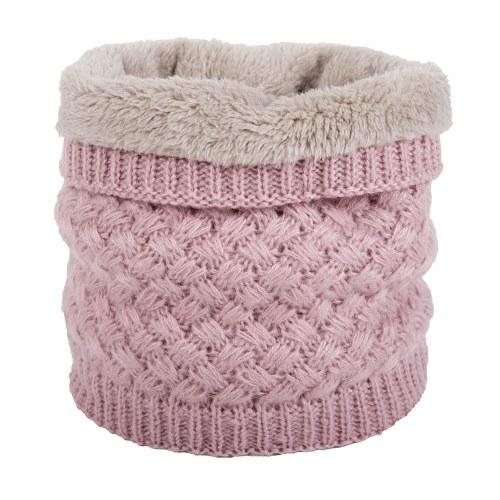 Unisex Fashion Add Wool Malestar tejido bufanda conjunto