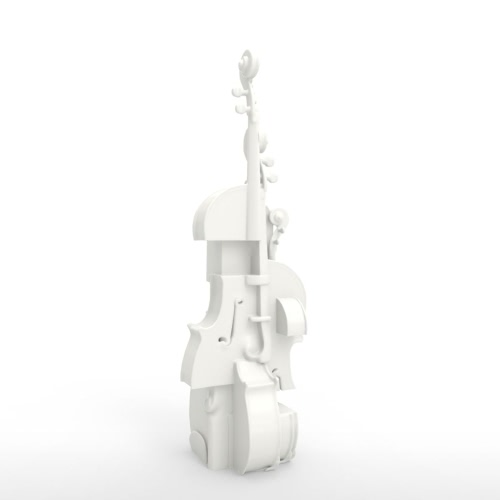 Violin Fantasia Tomfeel?? 3D Printed Sculpture Home Decoration InstrumentHome &amp; Garden<br>Violin Fantasia Tomfeel?? 3D Printed Sculpture Home Decoration Instrument<br>