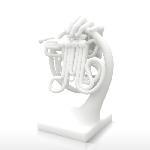Horn Fantasia Tomfeel?? 3D Printed Sculpture Home Decoration InstrumentHome &amp; Garden<br>Horn Fantasia Tomfeel?? 3D Printed Sculpture Home Decoration Instrument<br>