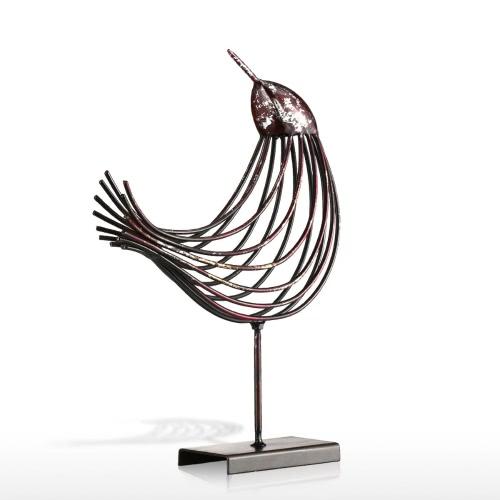 Iron Wire Bird Tooarts Metal Sculpture Home Decoration Creative Sculpture BirdHome &amp; Garden<br>Iron Wire Bird Tooarts Metal Sculpture Home Decoration Creative Sculpture Bird<br>
