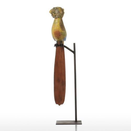 Tooarts Long-tail Bird Resin Sculpture Fiberglass Ornament Indoor Decor Statue Figurine Abstract Exaggerate Modern ArtHome &amp; Garden<br>Tooarts Long-tail Bird Resin Sculpture Fiberglass Ornament Indoor Decor Statue Figurine Abstract Exaggerate Modern Art<br>