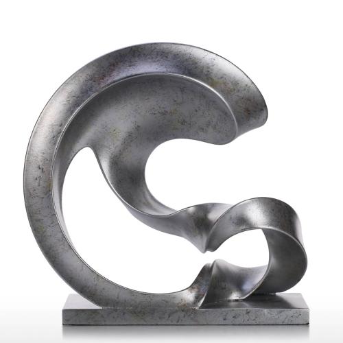Spoondrift Modern Sculpture Abstract Sculpture Resin SculptureHome &amp; Garden<br>Spoondrift Modern Sculpture Abstract Sculpture Resin Sculpture<br>