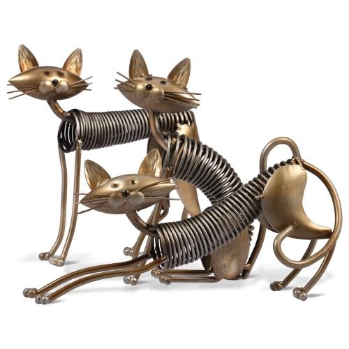 Tooarts  Metal Sculpture   Iron Art Cat   Spring Cat   Handicraft  Crafting   Decoration   Home Furnishing OrnamentsHome &amp; Garden<br>Tooarts  Metal Sculpture   Iron Art Cat   Spring Cat   Handicraft  Crafting   Decoration   Home Furnishing Ornaments<br>