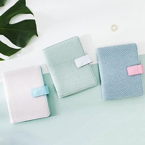 woven story handbook series cloth surface hardcover notebook