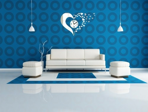 Crystal Mirror Stereo Wall Stickers