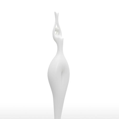 Estiramiento de belleza Tomfeel 3D Escultura Impreso Modelo elegante de la decoración del hogar