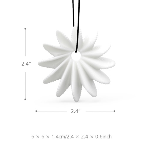 Tomfeel 3D Printed Jewelry Blooming Flower Elegant Modeling Pendant Jewelry Necklace AccessoriesHome &amp; Garden<br>Tomfeel 3D Printed Jewelry Blooming Flower Elegant Modeling Pendant Jewelry Necklace Accessories<br>