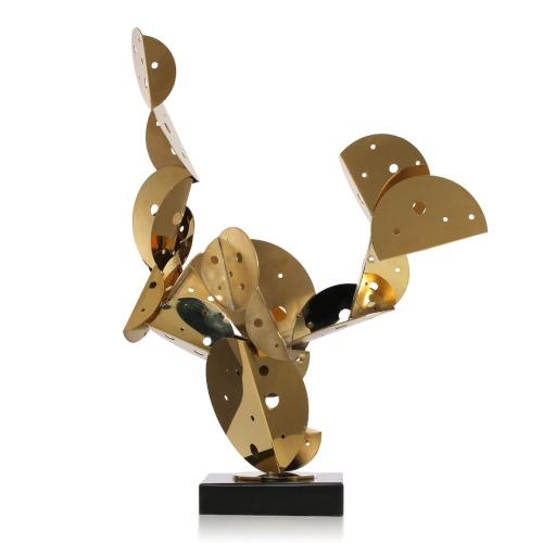 Кактус Металл Орнамент Нержавеющая сталь Скульптура Абстрактный орнамент орнамент в гостинице и клубе