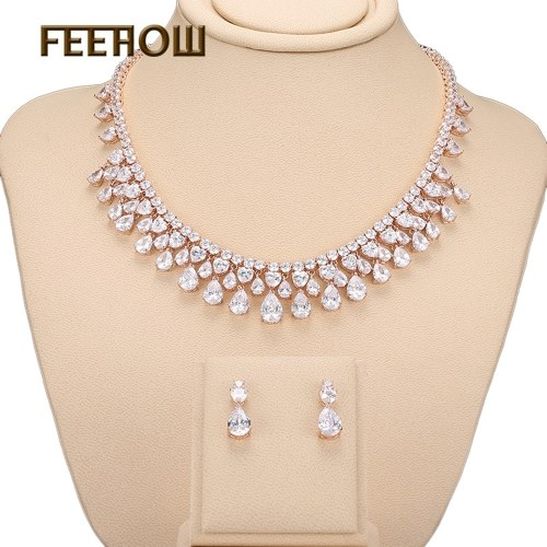 FEEHOW Europe and America high-end AAA zircon set
