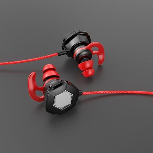 Eating chicken headphones Black and red packaging