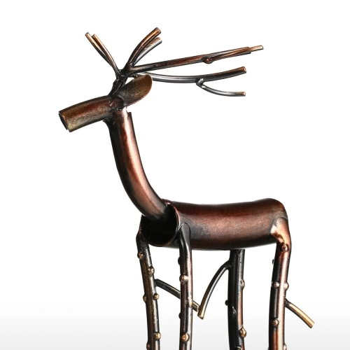 Black Long Leg Moose Tooarts Iron Sculpture Home Decoration Crafts Metal Animal SculptureHome &amp; Garden<br>Black Long Leg Moose Tooarts Iron Sculpture Home Decoration Crafts Metal Animal Sculpture<br>