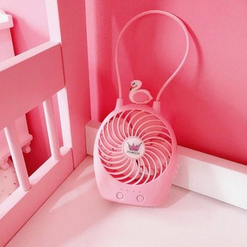 Cartoon Cute Girl Heart USB Mini Fan