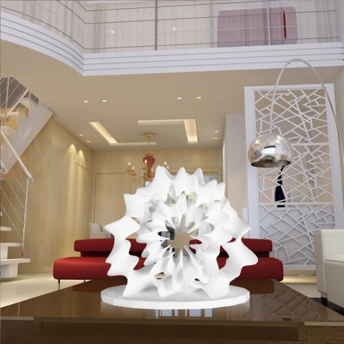 Escultura impresa flor 3D Tomfeel la decoración del hogar diseño original