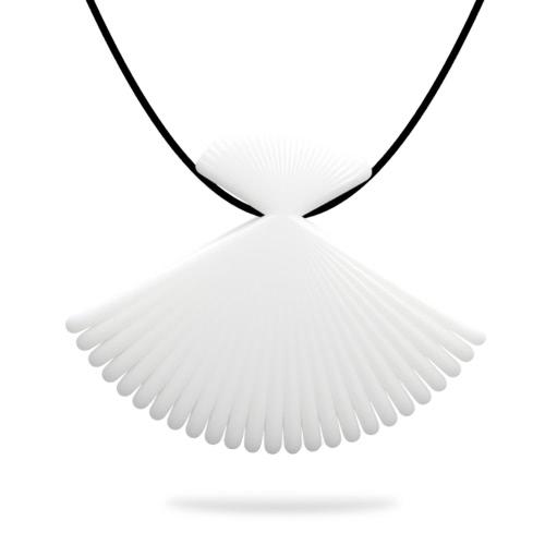 Tomfeel 3D Fan joyería Impreso los accesorios del collar de la joyería pendiente elegante de Modelado
