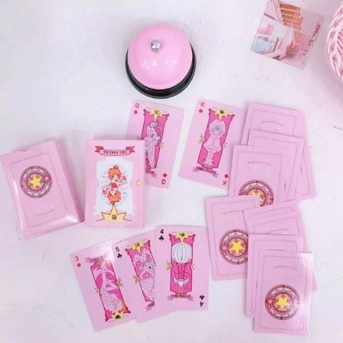 Cartoon Anime Variety Sakura Magic Array Poker