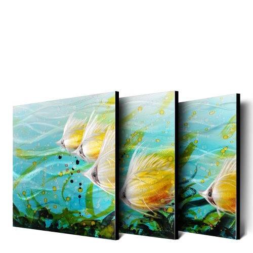 Tooarts Colorful Fishes Wall Art Modern Painting Home Decoration 5 Panels MulticolorHome &amp; Garden<br>Tooarts Colorful Fishes Wall Art Modern Painting Home Decoration 5 Panels Multicolor<br>