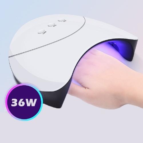 36W УФ светодиодный светильник для гвоздя гель