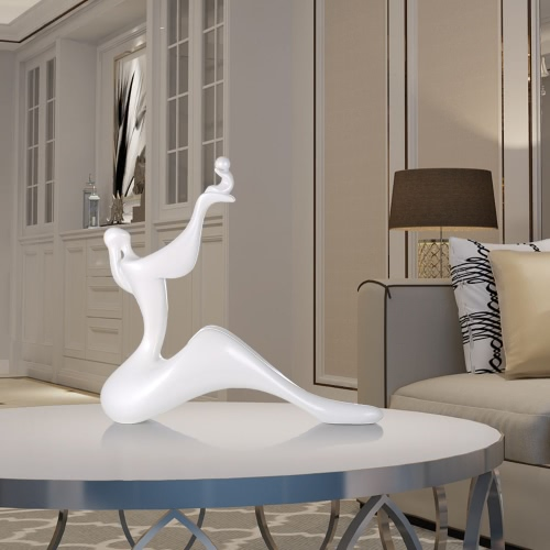 Tomfeel Mom &amp; Child-- Lift Resin Sculpture Home Decor Modern Art FigurineHome &amp; Garden<br>Tomfeel Mom &amp; Child-- Lift Resin Sculpture Home Decor Modern Art Figurine<br>