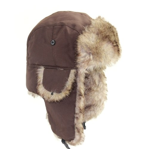 Homens adultos chapéu impermeável Lei Feng Hat Earmuffs Hat
