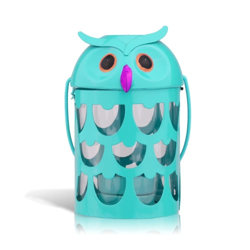 Owl candle holder(light blue) Hurricane lamp Practical ornament Creative ornament  Home Furnishing ArticlesHome &amp; Garden<br>Owl candle holder(light blue) Hurricane lamp Practical ornament Creative ornament  Home Furnishing Articles<br>