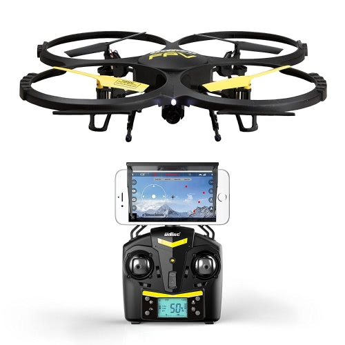 Force1 UDI U818A Wifi FPV Drone with HD Camera, Remote Control, VR Headset and Power BankToys &amp; Hobbies<br>Force1 UDI U818A Wifi FPV Drone with HD Camera, Remote Control, VR Headset and Power Bank<br>