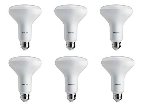 Philips LED Dimmable BR30 Light Bulb: 650-Lumen, 2700-Kelvin, 9-Watt (65-Watt Equivalent), E26 Base, Soft White, 6-PackHome &amp; Garden<br>Philips LED Dimmable BR30 Light Bulb: 650-Lumen, 2700-Kelvin, 9-Watt (65-Watt Equivalent), E26 Base, Soft White, 6-Pack<br>